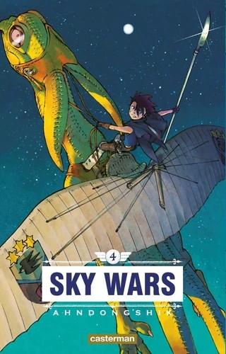 SKY WARS/4/SAKKA/CASTERMAN/SKY WARS