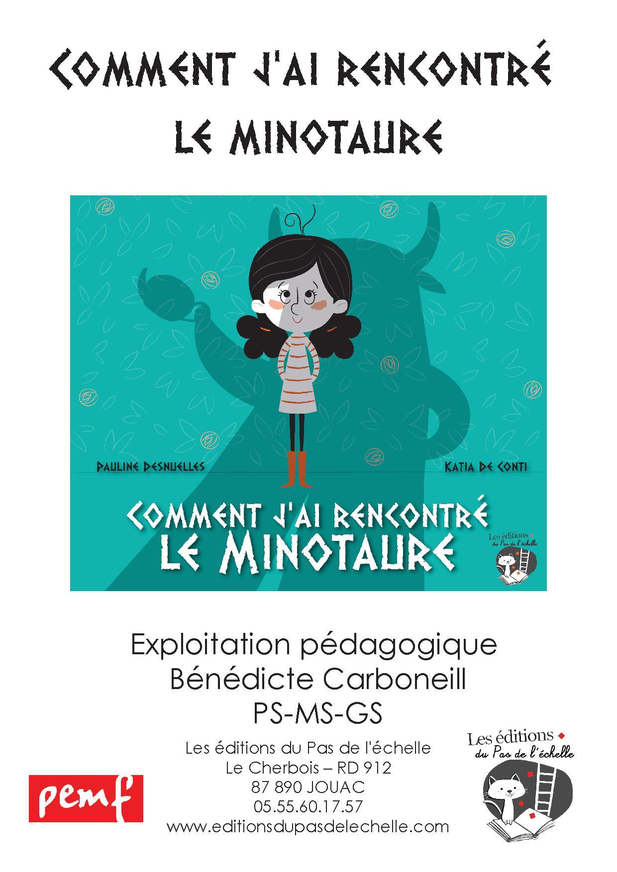 FICHIER MULTI NIVEAU COMMENT J'AI RENCONTRE LE MINOTAURE///PEMF/