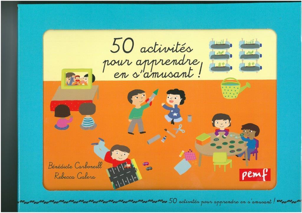 FICHIER 50 ACTIVITES POUR LES MATERNELLES///PEMF/