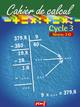 CAHIER DE CALCUL CYCLE 3 NIVEAU 3D///PEMF/