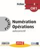 FICHIER NUMERATION OPERATIONS CM1 NIVEAU 2 FICHIER 8///PEMF/