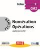 FICHIER NUMERATION OPERATIONS CM2 NIVEAU 1 FICHIER 9///PEMF/