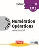 FICHIER NUMERATION OPERATIONS CM2 NIVEAU 2 FICHIER 10///PEMF/