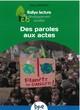 DE PAROLES AUX ACTES CYCLE 3//RALLYE LECTURE DEVELOPPEMENT DURABLE/PEMF/