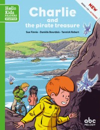 CHARLIE AND THE PIRATE TREASURE /HELLO KIDS READERS/ LIVRES CD/ABC ME