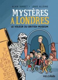 MYSTERES A LONDRES TOME 1 - LE VOLEUR DU BRITISH MUSEUM (COLL. MELOKI
