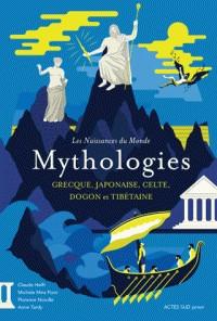 MYTHOLOGIE GRECQUE, JAPONAISE, CELTE, DOGON,TIBETAINE/ACTES SUD