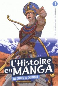 L'HISTOIRE EN MANGA 1 - LES DEBUTS DE L'HUMANITE /BAYARD
