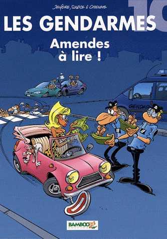 AMENDES A LIRE T10 / Les gendarmes / BAMBOO
