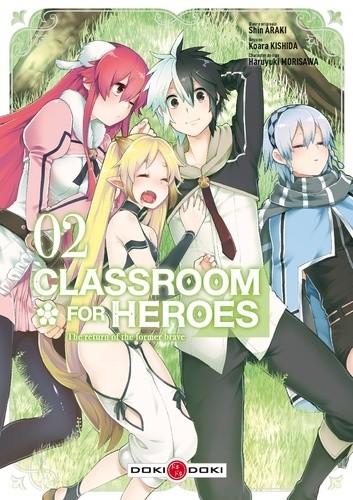 CLASSROOM FOR HEROES - T02  / DOKI-DOKI
