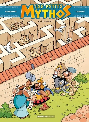 LES PETITS MYTHOS - TOME 11 - CRETE PARTY / BAMBOO HUMOUR / BAMBOO