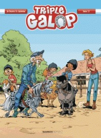 TRIPLE GALOP - TOME 13 / BAMB.FILLE / BAMBOO