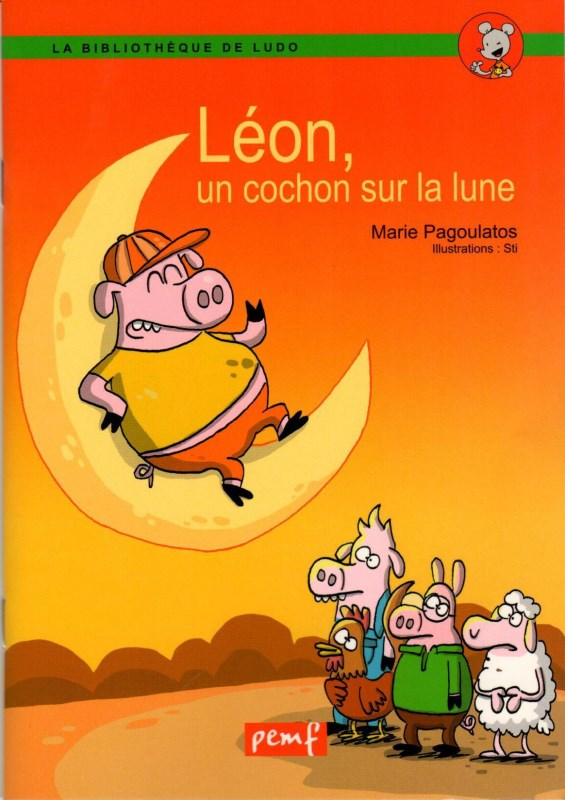 LEON LE COCHON 1ex / LUDO/ PEMF