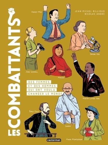 LES COMBATTANTS - 30 COMBATS TOUJOURS D'ACTUALITE / ALBUMS CASTERMAN