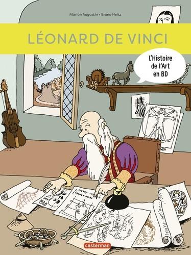 LEONARD DE VINCI / TOUT EN BD / CASTERMAN