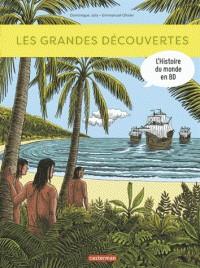 L'HISTOIRE DU MONDE EN BD - LES GRANDES DECOUVERTES / TOUT EN BD / CA