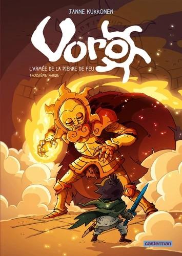 VORO, L'ARMEE DE LA PIERRE DE FEU - T06 -CYLCE 2 - 3EME PAR/CASTERMA