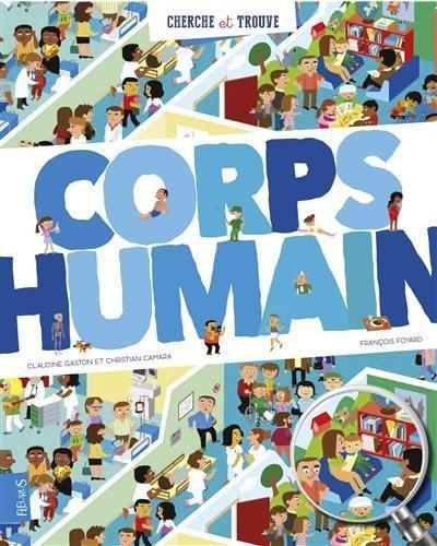 CORPS HUMAIN / CHERCHE ET TROUVE / FLEURUS