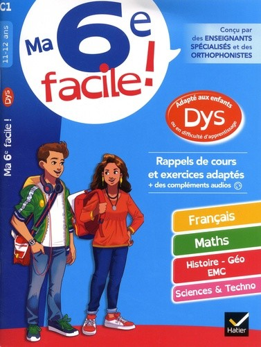 MA 6E FACILE ! DYS 11/12 ANS/HATIER