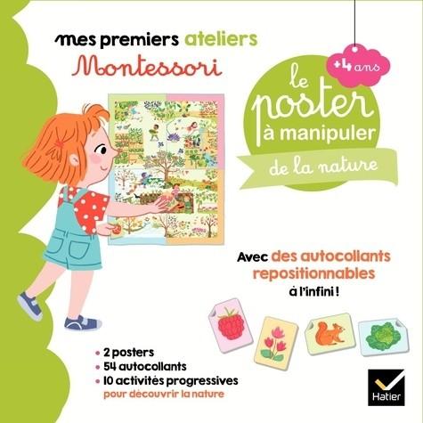 COFFRET MONTESSORI POSTER A MANIPULER DE LA NATURE / PRE AT/HATIER