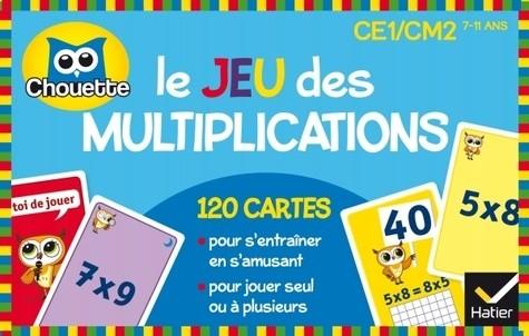 LE JEU DES MULTIPLICATIONS / CHOUETTE ENTRAI / HATIER