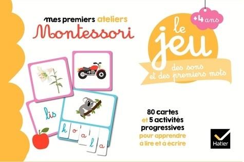 LE JEU MONTESSORI DES SONS ET DES PREMIERS MOTS / MES PREMIERS AT / H