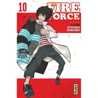 FIRE FORCE, TOME 10 / FIRE FORCE / KANA