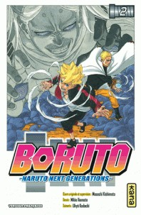BORUTO - NARUTO NEXT GENERATIONS T2 / BORUTO - NARUTO / KANA