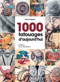 1000 TATOUAGES D'AUJOURD'HUI / ART / MARTINIERE BL