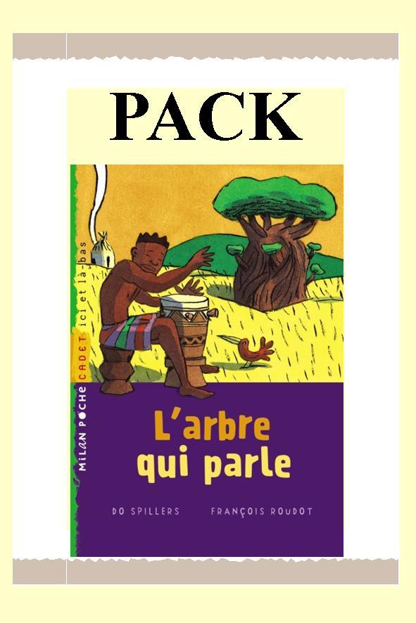 PACK ARBRE QUI PARLE 25 ex + fiches