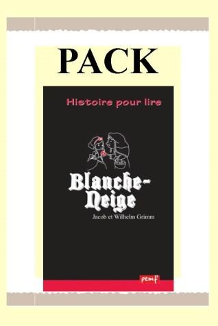Pack BLANCHE NEIGE 25 ex + Fiches de lecture / PEMF