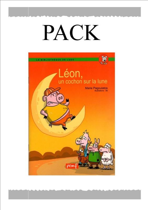 PACK LEON LE COCHON 25ex / LUDO/ PEMF