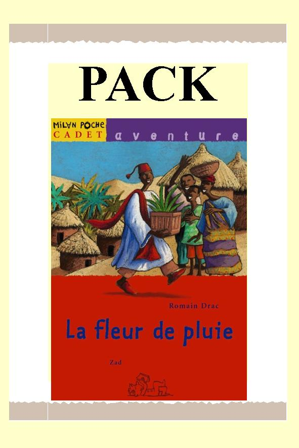 PACK LA FLEUR DE PLUIE 25 ex + fiches