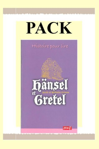 PACK HANSEL ET GRETEL 25 ex + fiche de lecture / CLASSIQUE PEMF