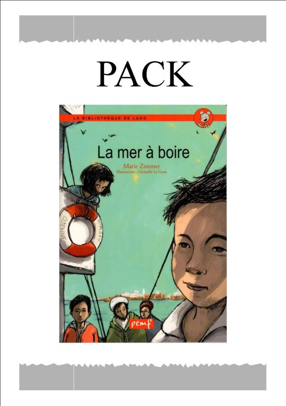PACK LA MER A BOIRE 25 ex / LUDO/PEMF