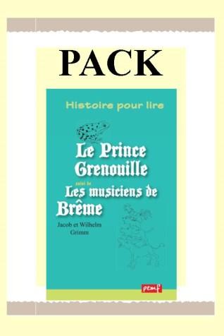 Pack PRINCE GRENOUILLE- MUSICIENS 25 ex + fiches de lecture / PEMF