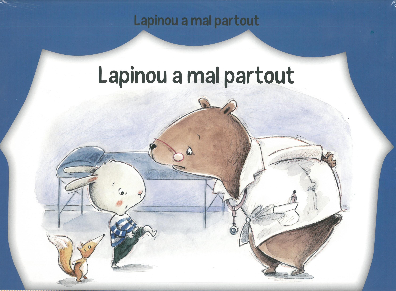 KAMISHIBAI LAPINOU A MAL PARTOUT / PAS DE L'ECHELLE