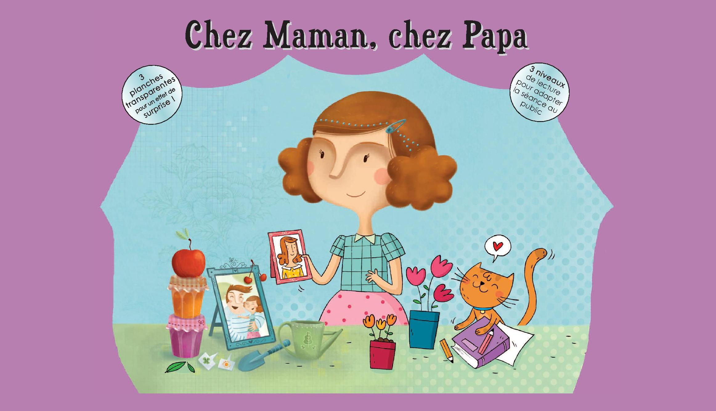 KAMISHIBAI CHEZ MAMAN CHEZ PAPA/ PAS DE L'ECHELLE