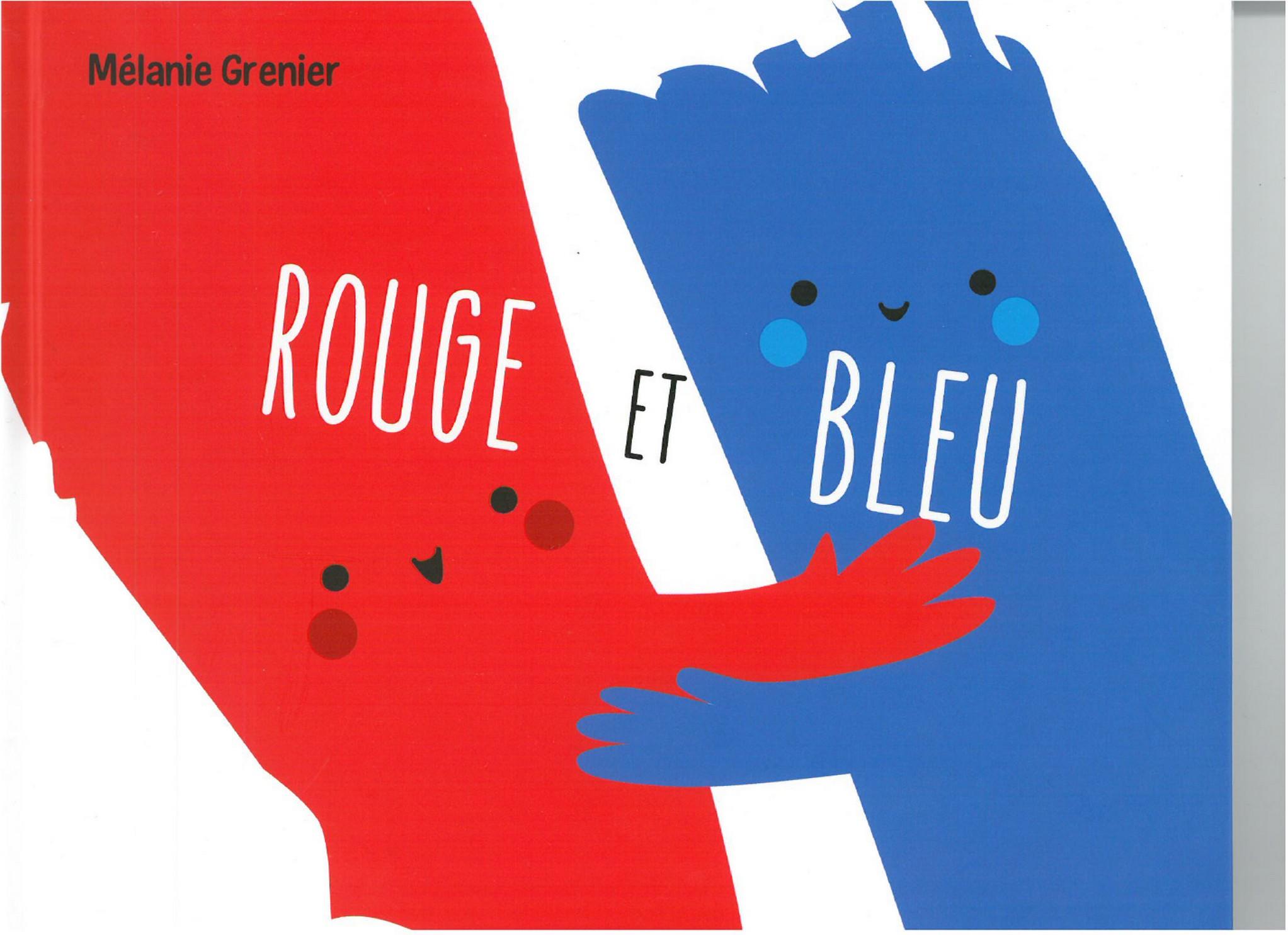 ROUGE ET BLEU / ALBUM /PAS DE L'ECHELLE