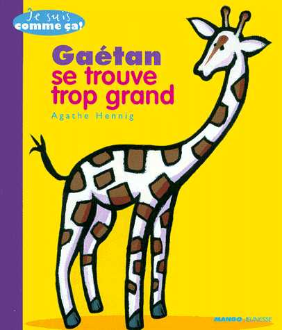 GAETAN SE TROUVE TROP GRAND / SOUPLE / MANGO