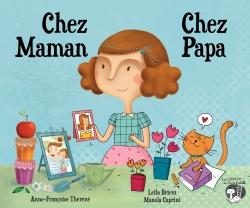 Couverture CHEZ MAMAN CHEZ PAPA