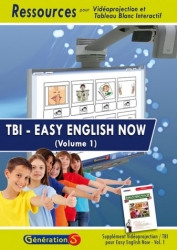Couverture Easy english now T1